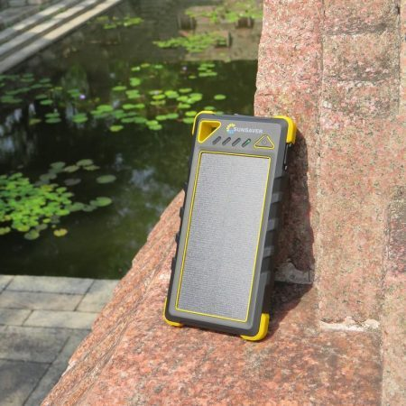 SunSaver Classic Solar Power Bank Charging In The Sun