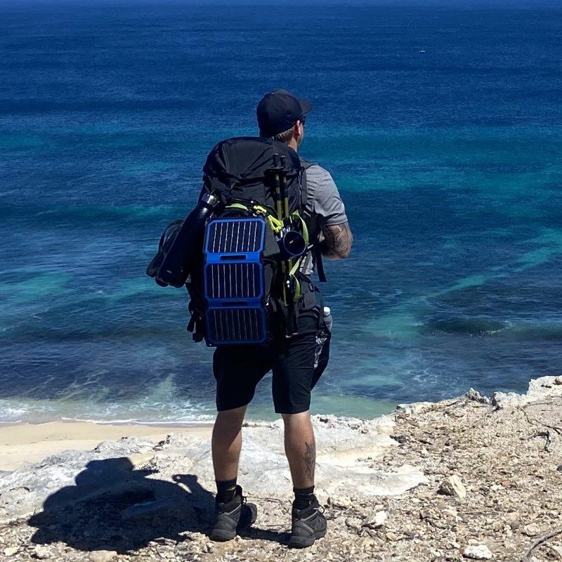 SunSaver Super-Flex Solar Phone Charger Backpack
